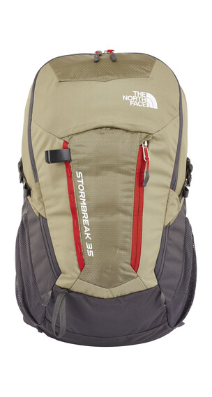 The North Face Stormbreak 35 Backpack mountain moss/pompeian red